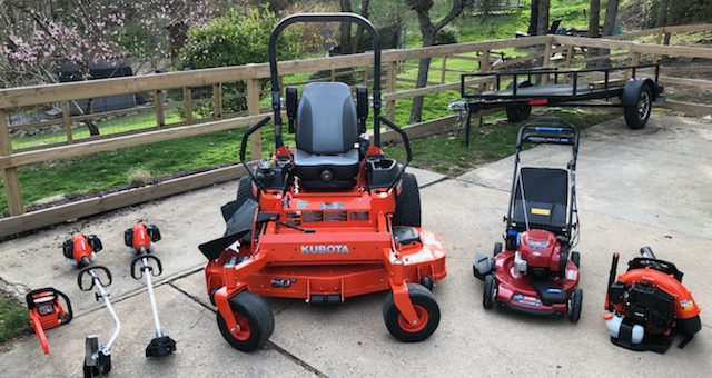 Our New 2018 Lawn Care Service Equipment!